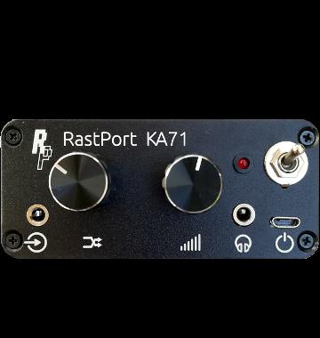 KA71 front panel